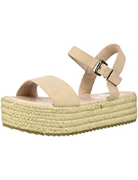 37023f46557 COOLWAY Women s Mini Espadrille Wedge Sandal