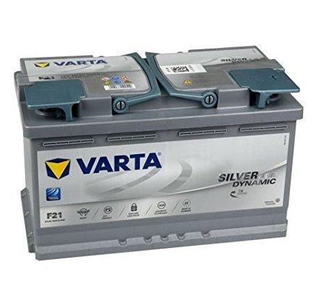 BATTERIA VARTA F21 SIL-DYN-AGM 12V 80Ah DIM.315x175x190 B13