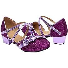 Amazon Zapatos Baile Amazon Zapatos Baile Latino Morado xxTZO