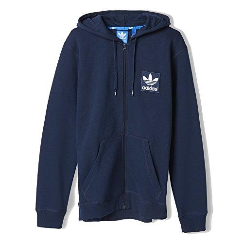 Adidas Originals Sweat zippé capuche Navy