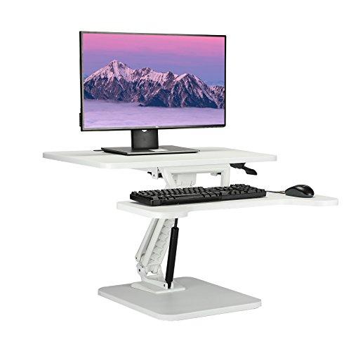 CO-Z Höhenverstellbar Sitz-Steh Schreibtisch Schreibtischaufsatz Steharbeitsplatz Stehpult...