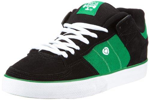 C1RCA Tre TRE-BKFG, Sneaker uomo, Nero (Schwarz (BKFG)), 39
