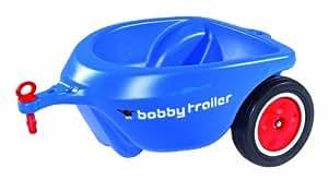 big 56281 new bobby car anh nger blau spielzeug. Black Bedroom Furniture Sets. Home Design Ideas