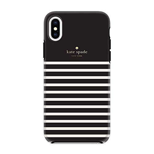 Kate Spade New York Phone Case | for Apple iPhone X and XS | Protective Phone Cases with Slim Design, Drop Protection, Clear with Dots (Clear - Dots) -