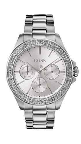 Hugo Boss Watch Reloj Multiesfera para Mujer de Cuarzo con Correa en Acero Inoxidable 1502442