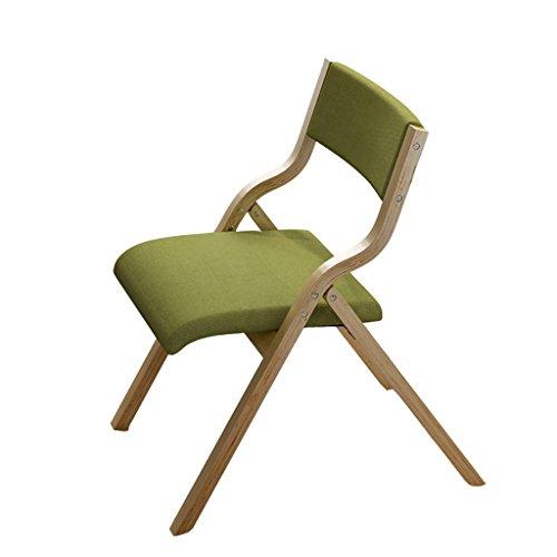 XIAOLVSHANGHANG HHCS Esszimmerstuhl Moderner minimalistischer Stuhl Kreativer Freizeitstuhl Klappbare Computerstühle Massivholzstühle Zurück Stühle Hocker & Stühle (Farbe : F)
