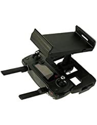 RC Parts, Bescita Remote Control Phone Flat Bracket 4-12 Inch Holder Parts for DJI Mavic Pro Drone, Black