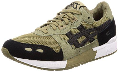 Asics Gel-Lyte, Chaussures de Running Homme, Vert (Aloe Black 0890), 44 EU