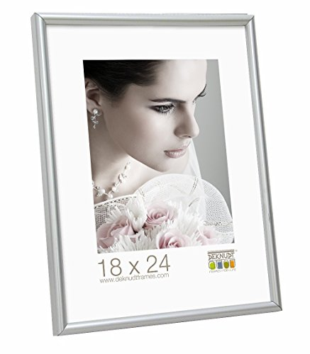 Deknudt Frames S011D1 40x50 marco gris plata resina