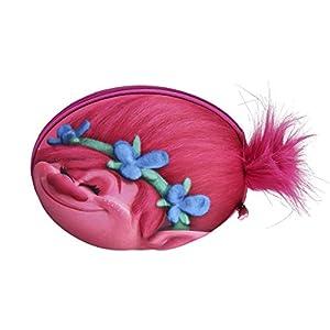 Cerdá Trolls- Trolls Plumier con Relieve 3D, Color Rosa, 22 cm (Artesanía Cerdá 2700000207)