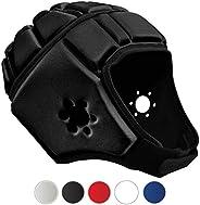 EliteTek Soft Padded Headgear - 7v7 Soft Shell - Rugby - Flag Football Helmet - Soccer Goalie & Epilepsy H