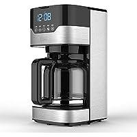 WUANNI Cafetera Totalmente Automática Máquina para Café Programable De 12 Tazas Máquina De Café por Goteo