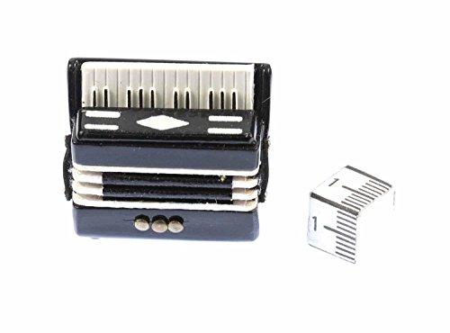Akkordeon Brosche Miniblings Pin Anstecker Harmonika Schifferklavier Volksmusik