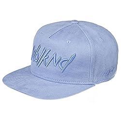 Nebelkind Unisex Snapback Cap Heaven Suede Kappe Hellblau One Size