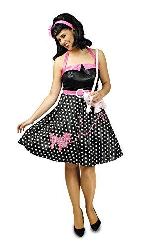 Kleid 60er 70er Jahre Rockabilly Peggy Sue 36 bis 46 (44/46) ()
