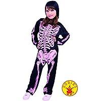 Disfraz Infantil - Esqueleto con Huesos Rosa 5-7 años