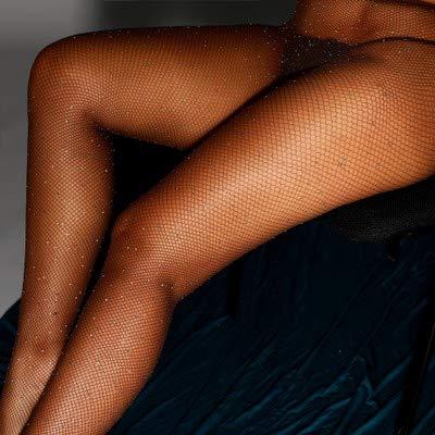 Strumpfhosen heiße Bohren Netzsocken voll von Sternen farbigen Diamant Leggings sexy Damenhosen,D