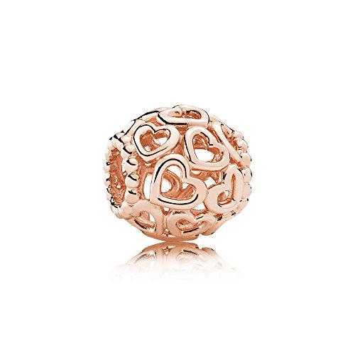 Pandora Charm Herzstrudel Rosé 780964