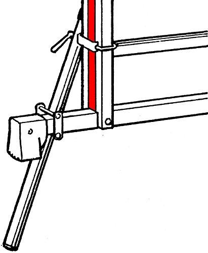 Hymer 5650 Accesorio para escaleras de Mano