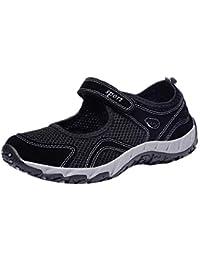 51acf79d3b1 Zapatillas para Mujer Deportivo Verano Plataforma Cuña Merceditas 2018 Moda  PAOLIAN Zapatos Casual Talla Grande Señora