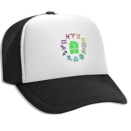 18639cfee Gorra Hombre Béisbol Retro Snapback Unisex Adult Trucker Hat Homestuck  Symbol Adjustable Mesh Cap Lightweight Breathable Soft Baseball Cap