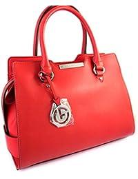 Francinel [M4623] - Sac créateur 'Vendôme' rouge