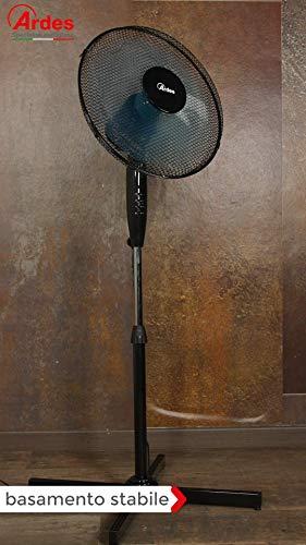 Zoom IMG-2 ardes ar5ea40p ventilatore piantana nero