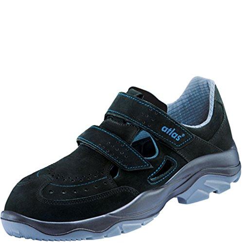 Sandales de sécurité ESD alu-tec 370Largeur de dans 12après en ISO 20345S1SRC de Atlas Schwarz