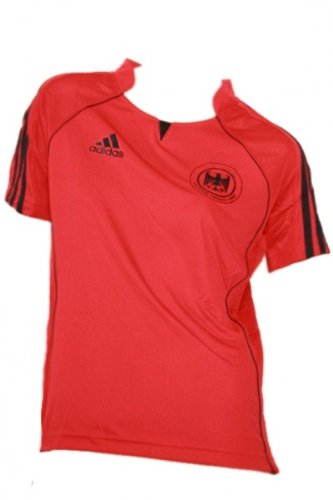 Adidas Damen DHB GER FED Trikot HANDBALL (613529) rot/ schwarz, Größe:44;Farbe:rot/schwarz