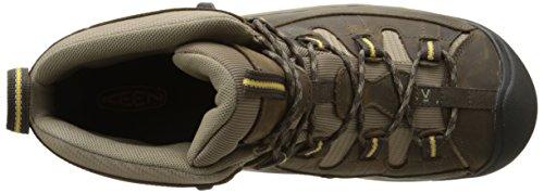 Keen Targhee Ii Mid, Chaussures de Randonnée Hautes Homme Noir (Black Olive/Yellow)