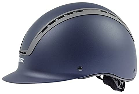 uvex Reithelme UVEX Reithelm SUXXEED ACTIVE VG1, blue mat, M-L (57-59 cm)