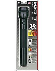 MagLite 3D-Cell LED Taschenlampe, 168 Lumen, Laenge 31,5 cm, Schwarz