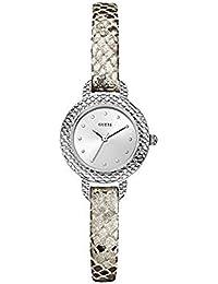 Guess Damen-Armbanduhr XS Analog Quarz Leder W0228L1
