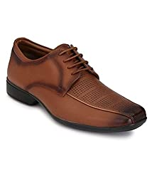 Boggy Confort Mens Tan Leather Formal Shoes (10)