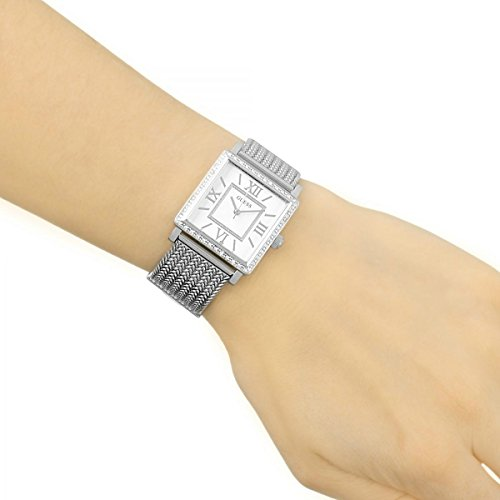 Guess Analog White Dial Watch For Women -W0826L1