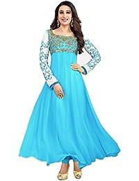 Raavi Sarees Georgette Saree (5021_Sky Blue)
