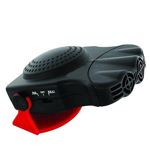 CARPOINT 0510084 - Ventilador con calefacción (150 W)