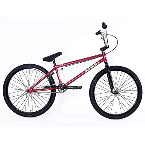 """41eeyQOWP6L. SS500  - Colony Bikes """"Eclipse 242018BMX Cruiser Wheel-Metal Red 24Inches Red 22"""""""