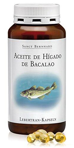 Aceite de Hígado de Bacalao 500mg - 200 Cápsulas