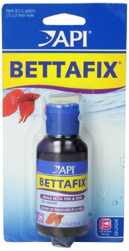 API bettafix Antibakterielle & Antifungal Betta Fisch Infektionen und Pilz-Remedy 1.7-ounce - Fisch Für Betta Aquarium