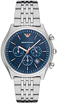 Emporio Armani Watch for Men - Analog, Stainless Steel Band - AR1974