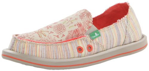 Sanuk Women's Scribble Sidewalk Surfer,Tropical,7 M US Multicolore (Tropical)