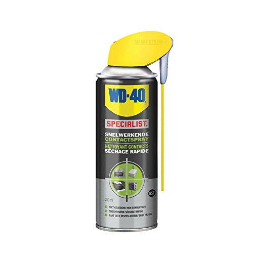 WD-40 1810141 31403 Nettoyant Contacts Action Rapide 250ml, Grey