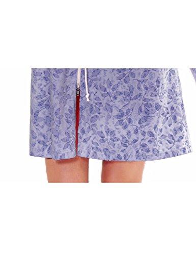 Raikou Femme Maison Robe avec capuche Violet - Violet