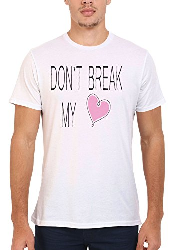 Do Not Break My Heart Cute Girl Cool Men Women Damen Herren Unisex Top T Shirt .Weiß
