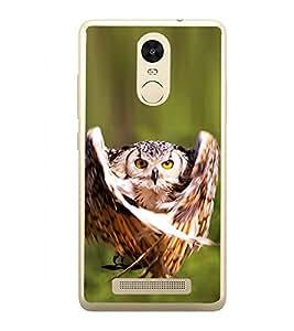 Prowling Owl 2D Hard Polycarbonate Designer Back Case Cover for Xiaomi Redmi Note 3 :: Xiaomi Redmi Note 3 Pro :: Xiaomi Redmi Note 3 MediaTek