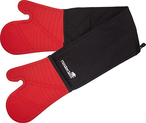 master-class-waterproof-and-heat-proof-double-silicone-oven-gloves-black