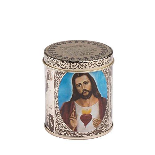 FANMEX - Fantastik - Vela aromática Religiosa en Estuche de Metal (Sagrado corazón de Jesús)
