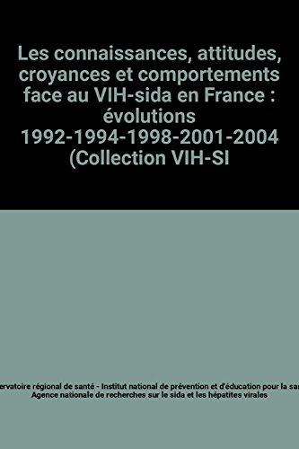 Les connaissances, attitudes, croyances et comportements face au VIH-sida en France : évolutions 1992-1994-1998-2001-2004 (Collection VIH-SIDA)