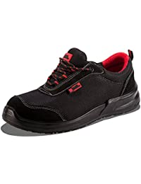 Black Hammer Mens Safety Boots Steel Toe Cap Work Shoes Ankle Trainers Hiker Midsole Protection 4482